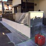 外ブロック塗装